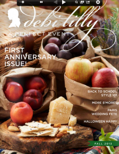 A Perfect Event Magazine, Fall Edition