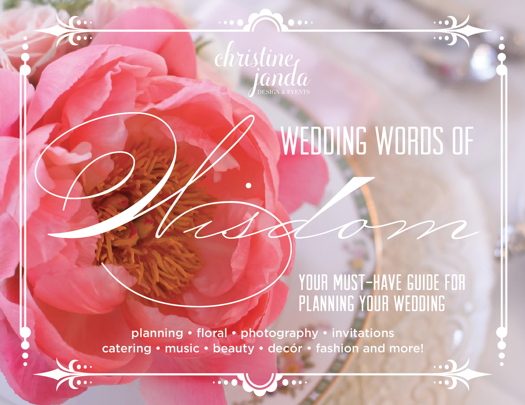 Wedding Words of Wisdom Cover