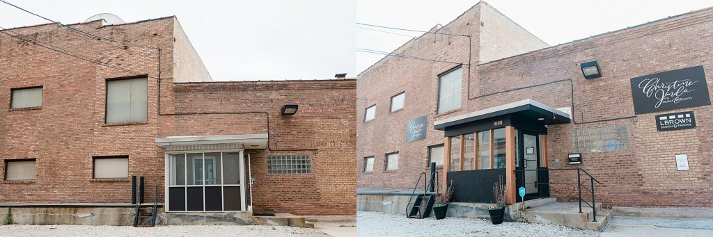 Chicago Event Planner Design Studio before and after renovation